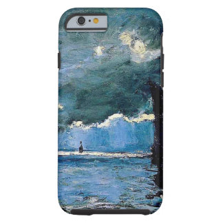 Monet un envío del paisaje marino funda de iPhone 6 tough