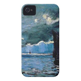 Monet un envío del paisaje marino iPhone 4 coberturas