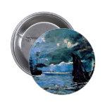 Monet un envío del paisaje marino pin