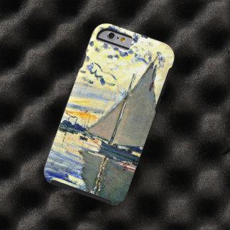 Monet - velero en le Petit Gennevilliers Funda De iPhone 6 Tough