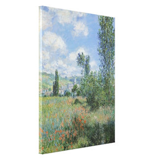 Monet Vetheuil 30x40 Wrapped Canvas