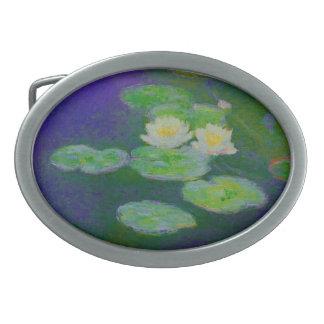 Monet Water Lilies 1897 Belt Buckle