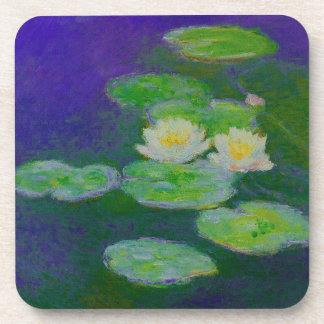 Monet Water Lilies 1897 Coasters