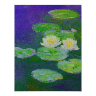 Monet Water Lilies 1897 Invitations