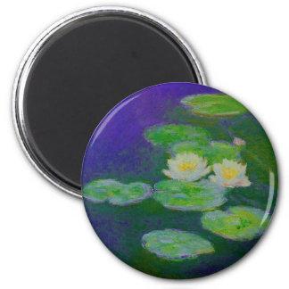 Monet Water Lilies 1897 Magnet