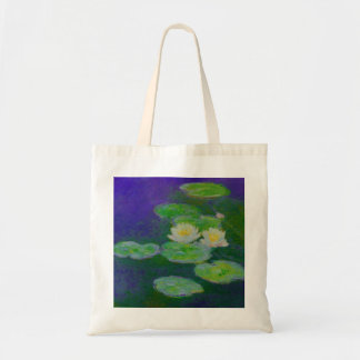 Monet Water Lilies 1897 Tote Bag