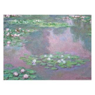 Monet Water Lilies 1905 Fine Art Tablecloth