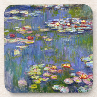 Monet Water Lilies 1916 Coasters