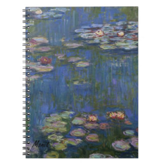 MONET Water Lilies 1916 Diary Journal Notebook