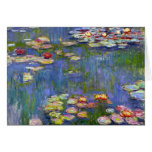Monet Water Lilies 1916 Greeting Card