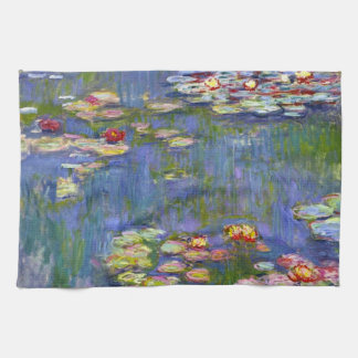 Monet Water Lilies 1916 Kitchen Towel