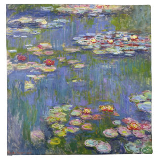 Monet Water Lilies 1916 Napkins
