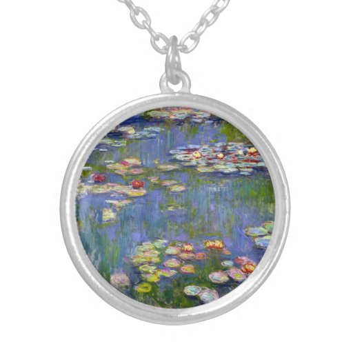 Monet Water Lilies 1916 Necklace