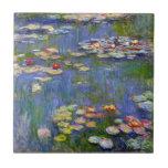 Monet Water Lilies 1916 Tile