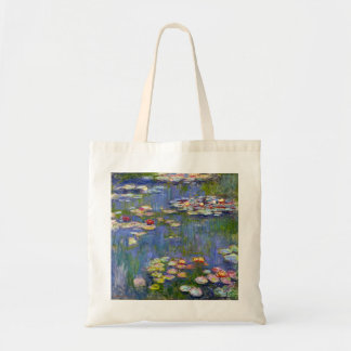 Monet Water Lilies 1916 Tote Bag