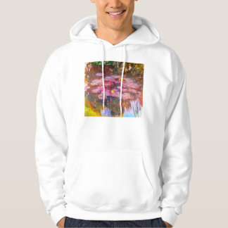 Monet Water Lilies 1917 Hoodie