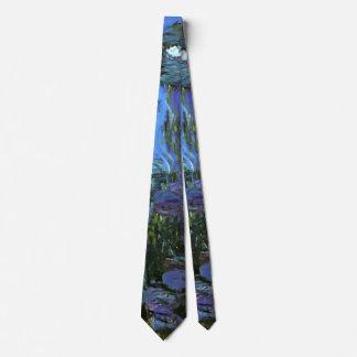 Monet - Water Lilies, 1917 Tie