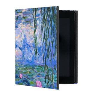 Monet - Water Lilies 1919 Artwork Ipad Folio Case at Zazzle