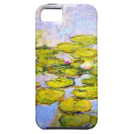 Monet Water Lilies 1919 v2 iPhone 5 Covers