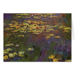 MONET Water Lilies 1920 Greeting Card