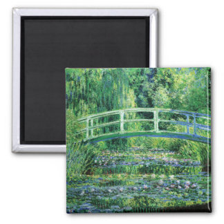 Monet Water Lilies and Japanese Bridge Magnet