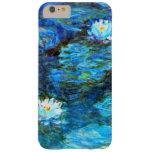 Monet - Water Lilies (blue) Barely There iPhone 6 Plus Case