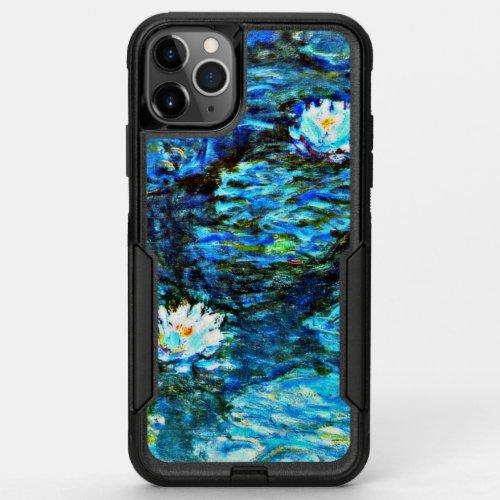Monet - Water Lilies (blue) Phone Case