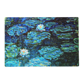 Monet - Water Lilies (Blue) Placemat