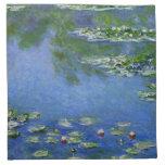 Monet Water Lilies Fine Art (1906) Cloth Napkin