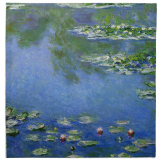 Monet Water Lilies Fine Art (1906) Cloth Napkin