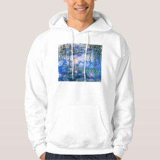 Monet Water Lilies Hoodie