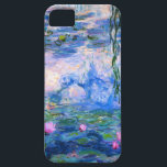 "Monet Water Lilies iPhone 5 Case<br><div class=""desc"">Monet Water Lilies iPhone 5 case. Oil painting on canvas from 1916. Monet painted his famous water lily pond obsessively during the final years of his career, drawing inspiration from the light of the sun and its shifting effect on the water and the aquatic flowers and foliage. This painting features...</div>"