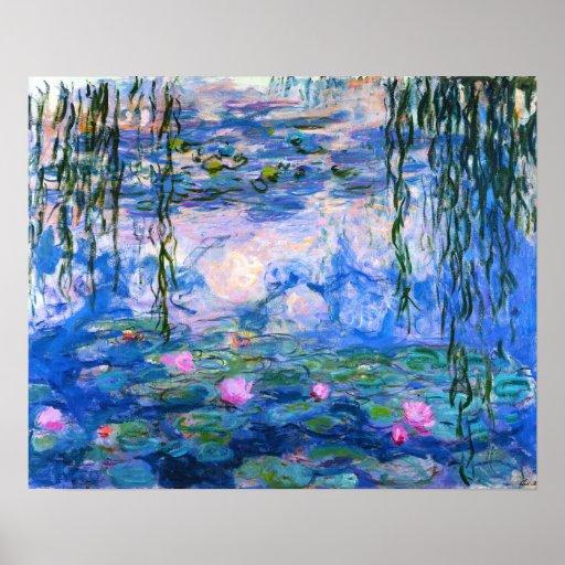 Monet Water Lilies Poster