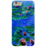 Monet - Water Lilies (red) Barely There iPhone 6 Plus Case
