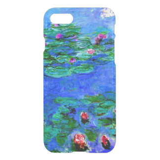 Monet - Water Lilies (red) iPhone 7 Case