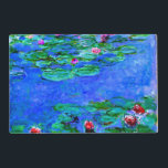 "Monet - Water Lilies (Red) Placemat<br><div class=""desc"">Claude Monet painting,  Water Lilies (red)</div>"
