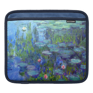 Monet Water Lilies Sleeve For iPads