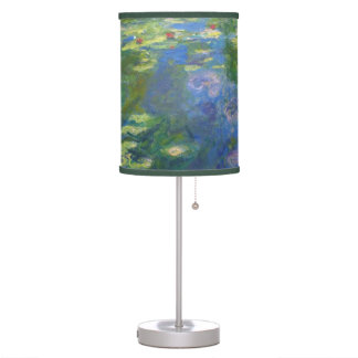 Monet Water Lilies Table Lamp