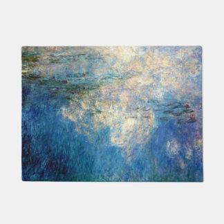 Monet Water Lilies The Clouds Fine Art Doormat