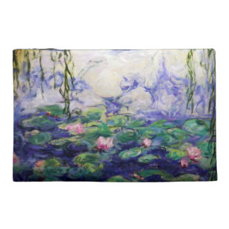 Monet Water Lilies Travel Accessories Bags