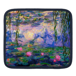 Monet Water Lilies v3 Sleeve For iPads