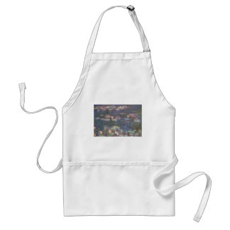 Monet Water Lillies Adult Apron