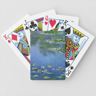 Monet Water Lillies Bicycle Playing Cards