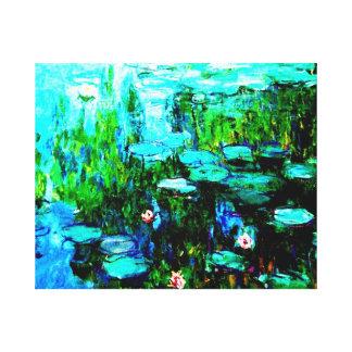 Monet Water Lillies Canvas