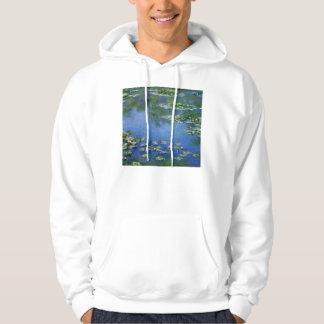 Monet Water Lillies Hoodie