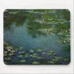 """Monet Water Lillies MousePad<br><div class=""""desc"""">Claude Monet Water lillies</div>"""