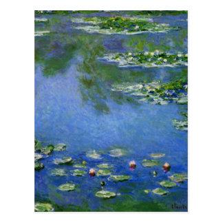 Monet Water Lillies Postcard