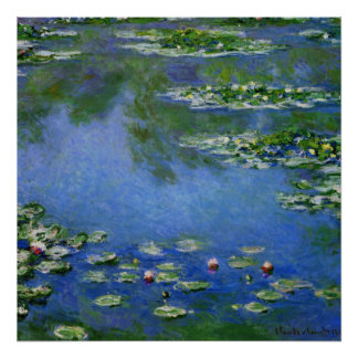 Monet Water Lillies Poster