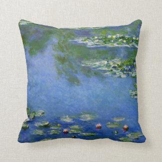 Monet Water Lillies Throw Pillow
