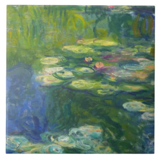 Monet Water Lilly Right Modular Tile